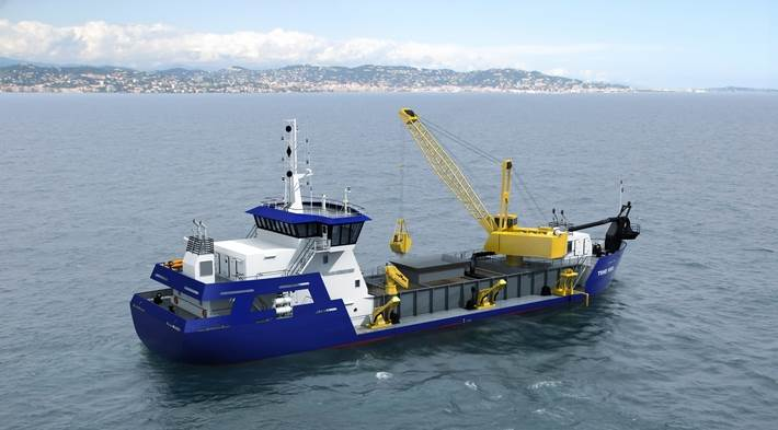 Hopper dredgers, trailing suction hopper dredgers