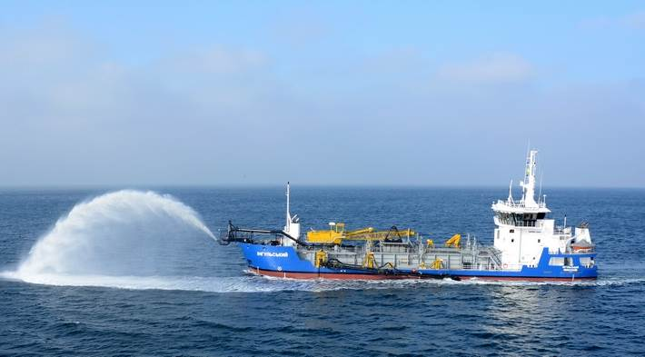 Trailing Suction Hopper Dredger Ingulskyi