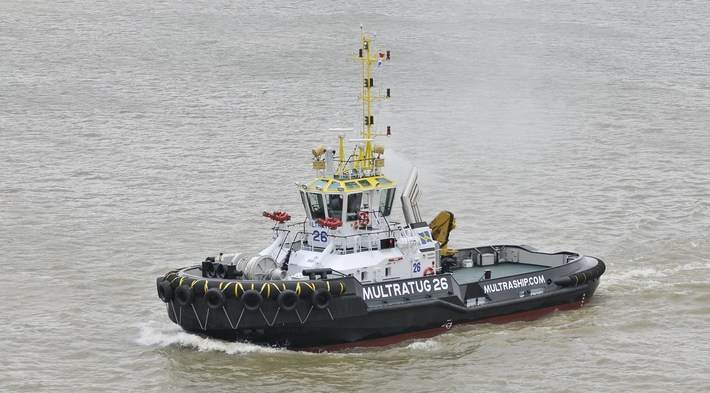 Damen is the world leader in building ASD Tugs.