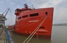 Monaco, April 17th 2014. CMM has taken delivery of a Damen Platform Supply Vessel 3300