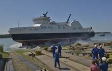 The MV Legionnaire is sister ship to the MV Veteran, launched earlier this year at the Romanian yard.